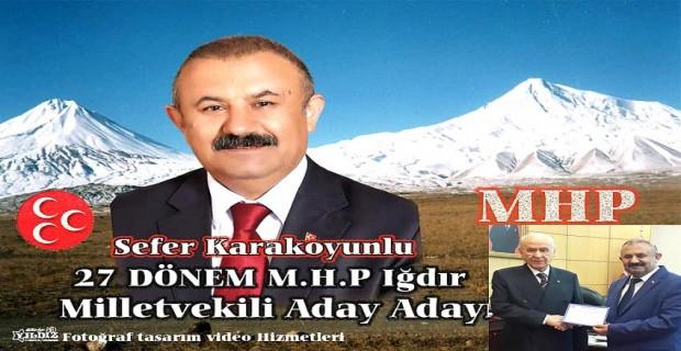 İSTAD GENEL BAŞKANI SEFER KARAKOYUNLU MHP'DEN ADAY ADAYI