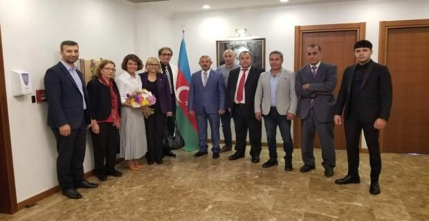 İSTAD, İSTANBUL AZERBAYCAN BAŞKONSOLOSLUĞU'NDA