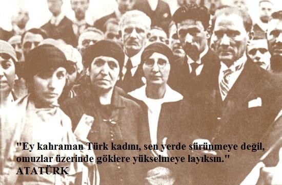 Atatürk Ve Türk Kadinlari Türk Kültür Portalı