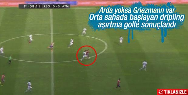 Griezmann'dan Real Sociedad'a nefis gol – İZLE