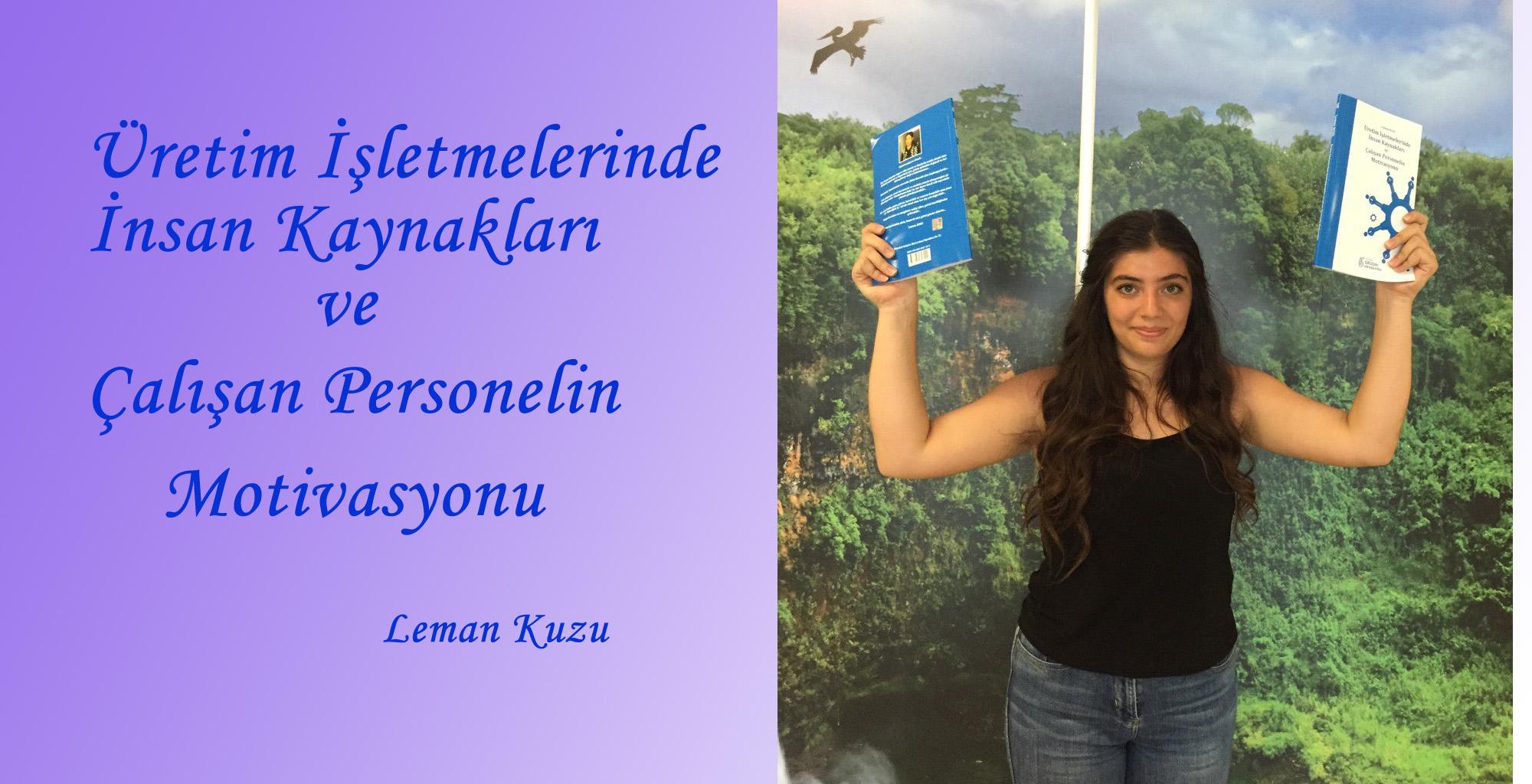 LEMAN KUZU'DAN YENİ BİR KİTAP