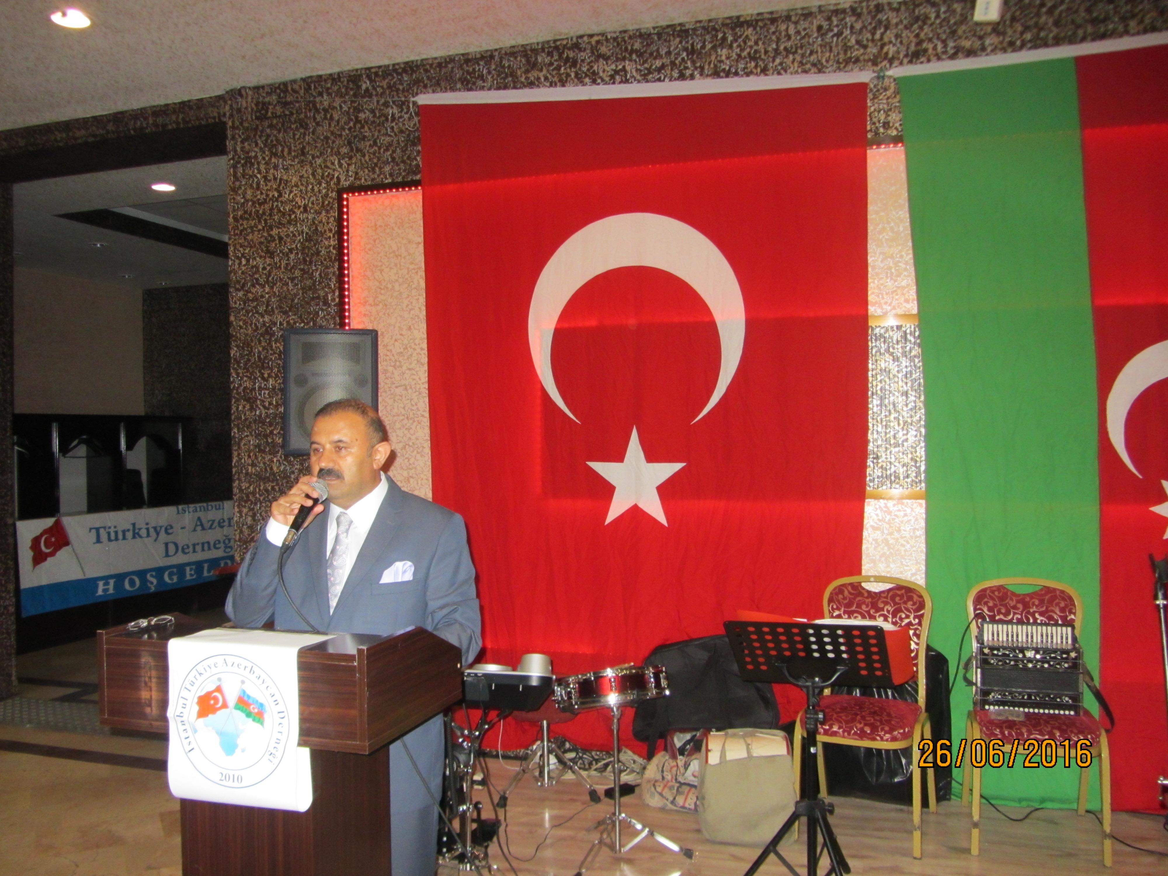 TÜRKİYE AZERBAYCAN SEVDALILARI İFTARDA BULUŞTU